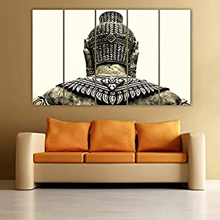 Generic Multiple Frames Buddha Art Wall Painting (150cm X 76cm)