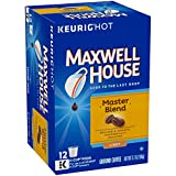 Maxwell House Master Blend Light Roast K-Cup Coffee Pods (12 Pods)