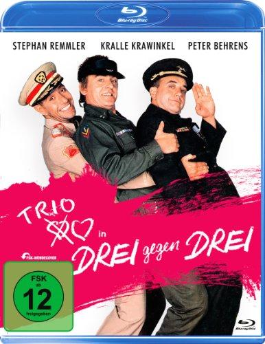 Drei gegen Drei - Der TRIO Film [Blu-ray]
