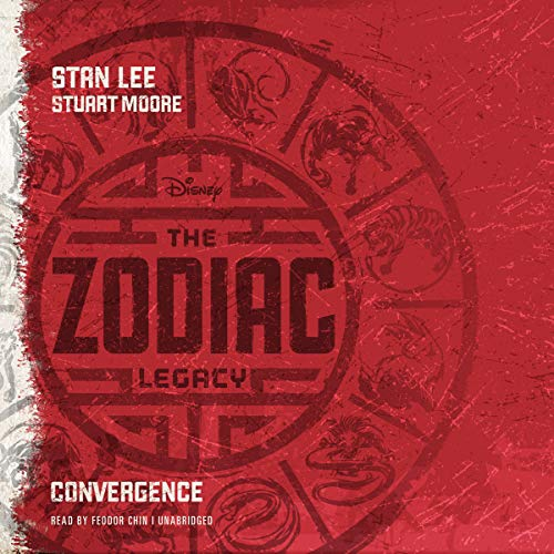 The Zodiac Legacy: Convergence audiobook cover art