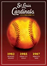 MLB Vintage World Series Films - St. Louis Cardinals 1982, 1985 & 1987