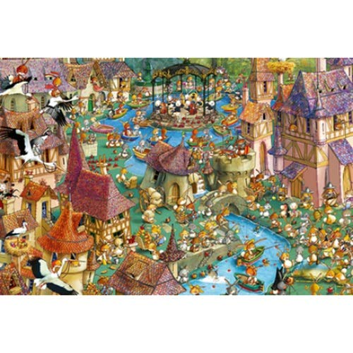 WUJINJ Vervoer In Jurassic Park Aquarium houten puzzel 1000 Stuks 500 Stuks Grote 300 hoge moeilijkheidsgraad Adult Puzzel cadeaus Educatief speelgoed meisjes speelgoed Exquisite Verjaardag Children's
