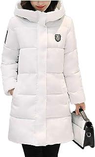 omniscient Women's Puffer Jacket Qulited Lightweight Hood Down Coat