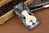 Sloskei iPhone 6/6s case,Mobile phone painted shell matte animal luminescence for iPhone 6/6s Case