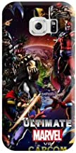 Appearance Marvel vs. Capcom Phone Case Cover Hot Fashion Design Cases Covers Samsung Galaxy S6 Edge