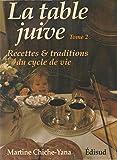 La table juive Tome 2 - Recettes et traditions du cycle de vie - Edisud - 01/12/1994