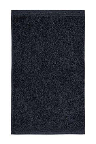 Möve 017258775-030050-820 serviette de toilette, 100% Coton, Dark Grey, 30 x 50 cm