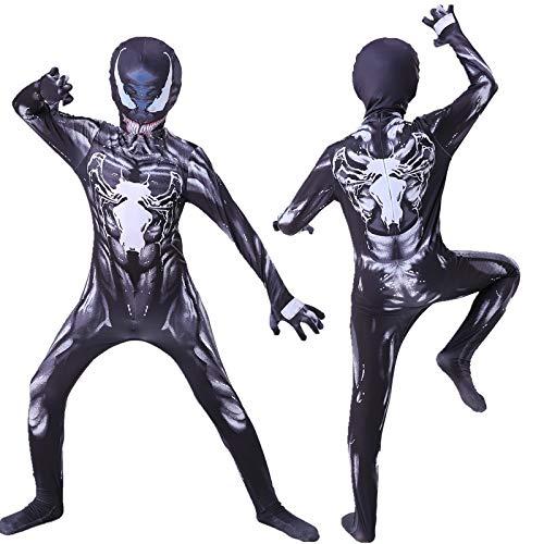YYXDP Disfraz De Halloween Cosplay, Disfraz De Venom para Adultos Y NiñOs, Fiesta De Disfraces, Cosplay De Escenario, Disfraz De Disfraces De Halloween