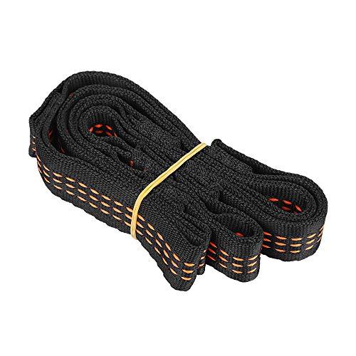 2 Piezas De Cinturón De Extensión De Hamaca De Yoga De Nylon, Cinturón De Seguridad De Escalada Ajustable, para Cuerda De Campamento De Columpio De Hamaca De Yoga 2 Piezas