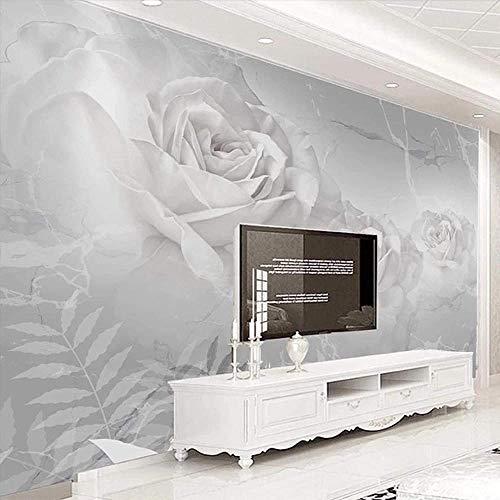 Papel pintado 3D personalizado espacio moderno planeta Luna foto pintura de pared sala de estar niños baño pegatina impermeable-350x210cm