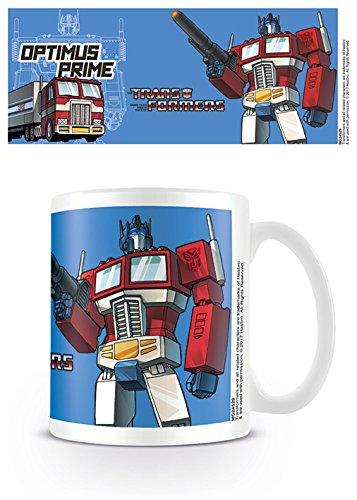 Transformers Optimus Prime Taza de cerámica, Multicolor