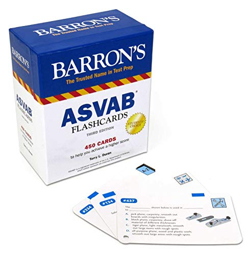 ASVAB Flashcards (Barron
