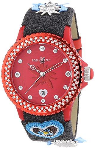 Damen-Armbanduhr EDELTRAUT Analog Quarz Leder EZDRG01