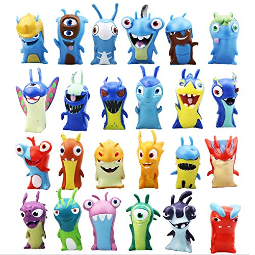 Slugterra action figure toys dolls set colecciones de modelos de PVC (24PCS)