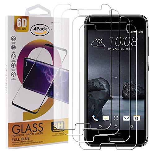 Guran 4 Paquete Cristal Templado Protector de Pantalla para HTC One A9 Smartphone 9H Dureza Anti-Ara?azos Alta Definicion Transparente Película