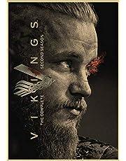 Vikings Tv Show Wall Paper Poster Size 42x30cm Lagertha Floki Bjorn Ragnar Ivar - ورق جدران مسلسل الفايكنق لاغيثا راغنار فلوكي (Style7)