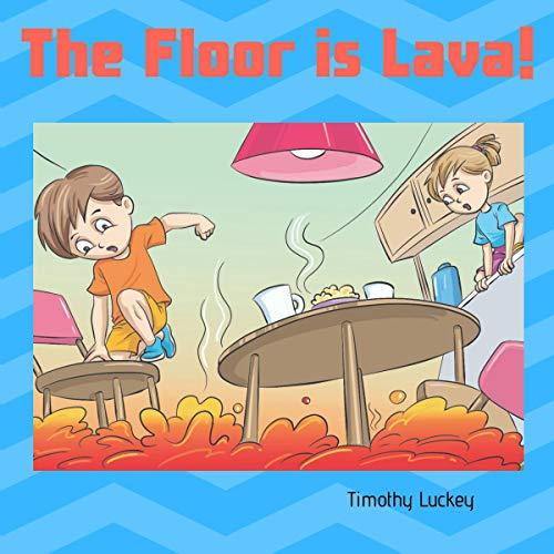 The Floor is Lava! audiobook cover art