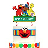 Elmo Cake Topper, Cake Decorations Birthday Party Supplies for Boys and Girls