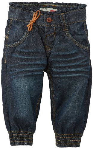 NAME IT Baby - Mädchen NINA MINI BAGGY DNM PANT R 413 NOOS Jeans, Blau (Denim), Gr. 92