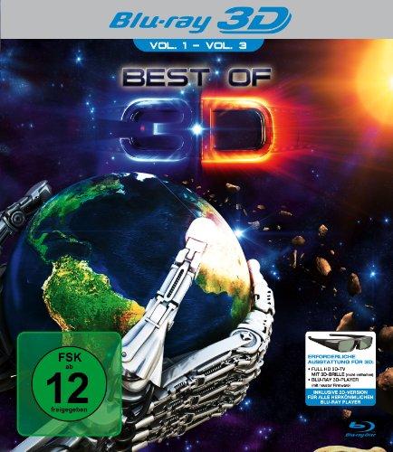 Best Of 3D - Vol. 1-Vol. 3 [3D Blu-ray]