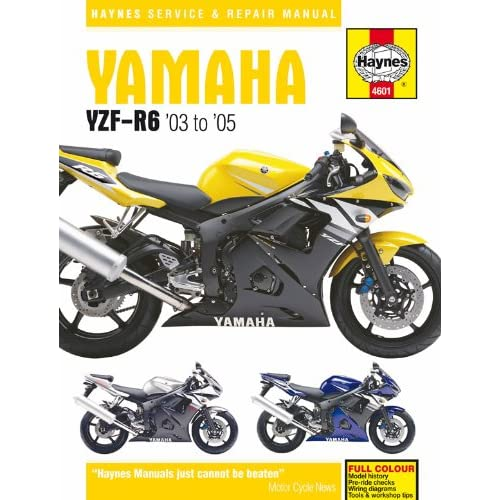 03-05 YAMAHA YZF-R6: Haynes Repair Manual