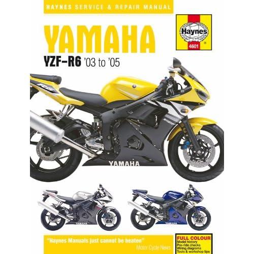 03-05 YAMAHA YZF-R6: Haynes Repair Manual