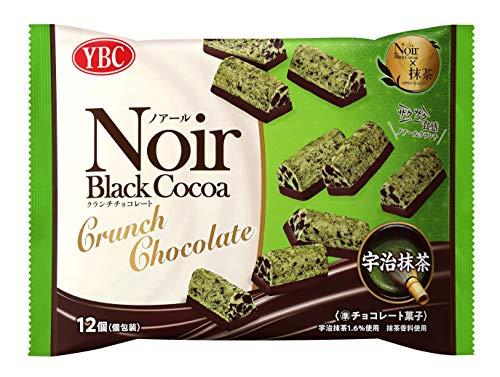 YBC ノアールクランチチョコレート宇治抹茶 12個 ×12袋