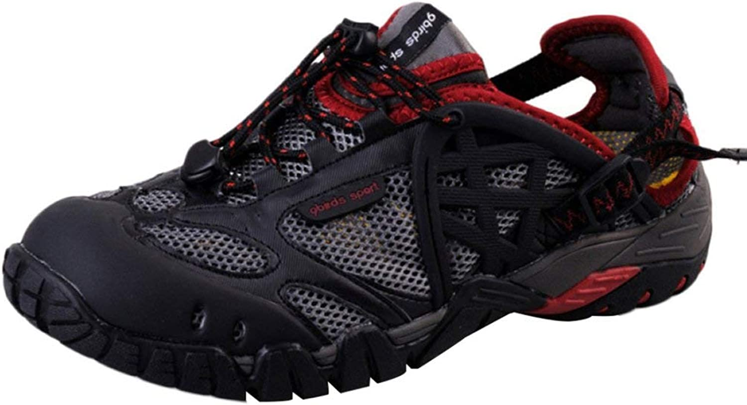 Dsx Neutral Waterproof shoes Hiking Outdoor Climbing Sandals Sports Running Wading shoes shoes, red, 43EU