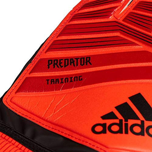 adidas Erwachsene PRED TRN Soccer Gloves, Active red/Black/Solar red, 11