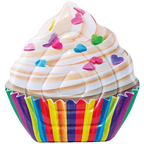 INTEX Matelas Cupcake arc-en-ciel