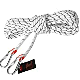 <span class='highlight'><span class='highlight'>WYZXR</span></span> Climbing Rope Static Emergency Fire Escape Rope Magnet Fishing 10m 30m 50m 70m 100m for Rock Tree Climbing Fire Escape Camping Hiking Engineering Protection Length