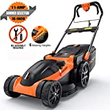Best Corded Lawn Mowers - TACKLIFE Electric Lawn Mower, 16-Inch 11Amp Corded Lawn Review