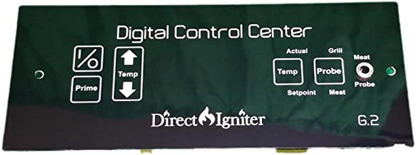 Direct Igniter Digital Thermostat Board/Control Center for Louisiana Pellet Grills + Wire Harness
