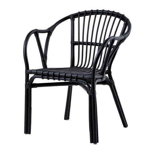IKEA HOLMSEL - Butaca, negro