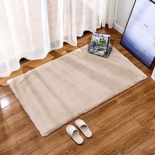 Jlxl tapijt voor woonkamer, shaggy modern, zacht, tapijtloper, rechthoekig, antislip