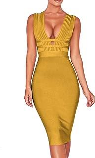 Best bandage sleeveless dress Reviews