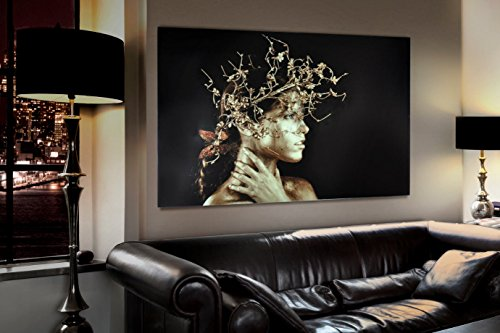 Schuller - Cuadros Impresión Digital - Fotografía Mujer Dorada