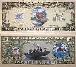 Set of 10 Bills-US Coast Guard Million Dollar Bill