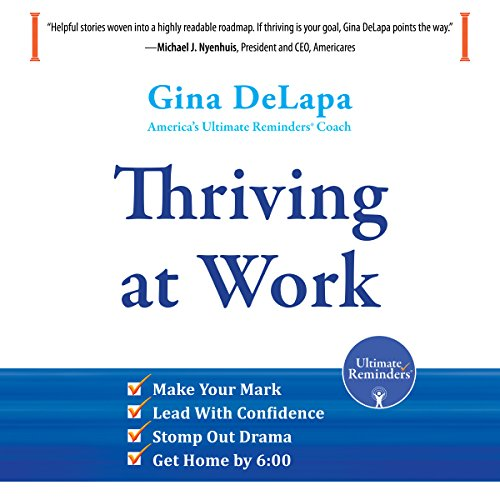Thriving at Work audiobook cover art