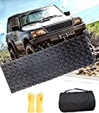 TARKII Tire Traction Mat, Single 39.3 Inch Portable Emergency Caterpillar Band to Get Your Vehicles Unstuck in Snow, Mud and Sand