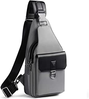 New Outdoor Leisure Oxford Cloth Backpack, Shoulder Bag Anti-Theft Man Bag Chest Bag