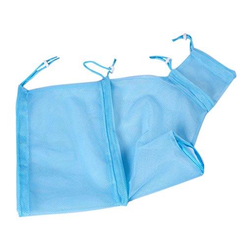 D DOLITY Sac de Toilettage Animaux Nettoyage Brosse pour Chat Chien Chiot Chaton - Bleu, 46 x 35,5 cm