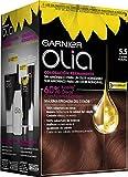 Garnier Olia - Coloración Permanente sin Amoniaco, con Aceites Florales de Origen Natural - Tono 5.5 Caoba