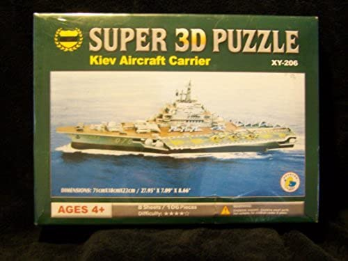 Kiev Aircraft Carrier Super 3d Puzzle by SUPER CHARMLAND