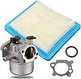 FHSF Reemplazar el carburador del Motor Parte for Briggs & Stratton 799871 790845 799866 796707 carburador y Aire Juego de filtros Desmontaje del carburador Kit carburador 1026