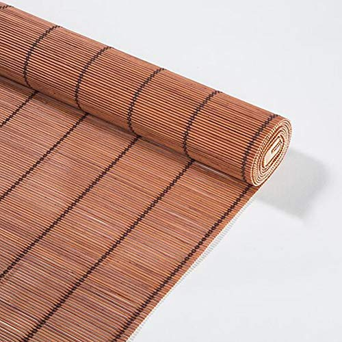 DALL rolgordijnen bamboe raam ademend oprollen zonwering 60 cm / 80 cm / 90 cm / 100 cm / 110 cm / 120 cm breed