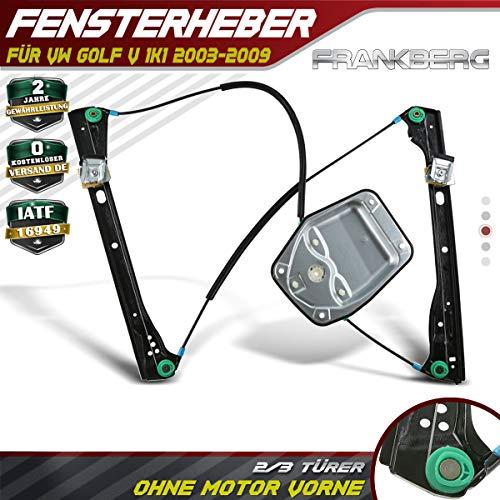 Fensterheber Ohne Motor VorneRechts für GolfV 1K1 2/3Türer 2003-2009 1K3837462