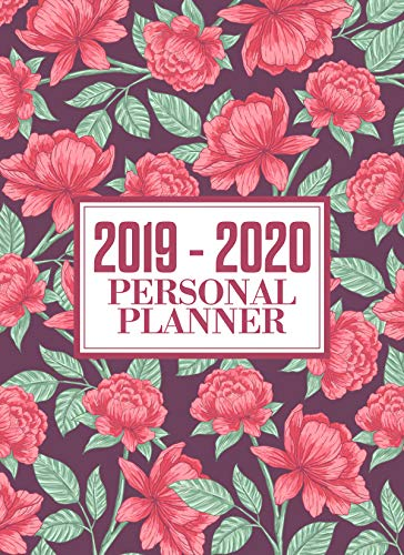 Personal Planner 2019 -2020: Weekly and Monthly Planner - To Do List, Appointment Note Book, Financial Planner (English Edition)