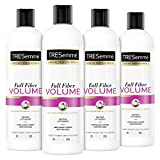 TRESemmé Conditioner For Instant Volume And Body Fiber Full Volume Long-Lasting Buildable Volume Conditioner For Hair 20 oz 4 Count