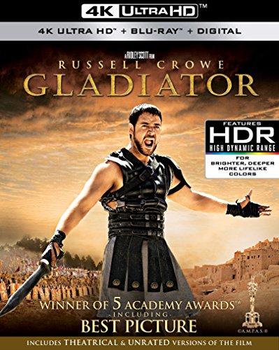 Gladiator (4K Uhd/Bd Combo/Digital)